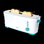 Cecotec Toast&Taste 1L - Tostadora con Capacidad para dos Tostadas, Ranura XL, 7 Posiciones de Tostado, Función Descongelar y Función Recalentar, 1000 W de Potencia