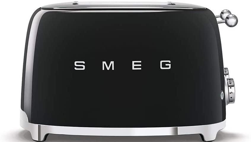 Smeg tsf03 Tostador, 2000 W, Negro