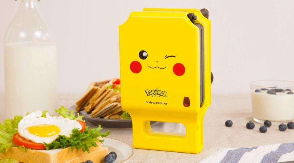 Tostadora Pikachu de la marca récolte