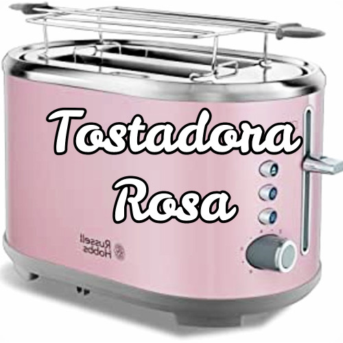 tostadora rosa