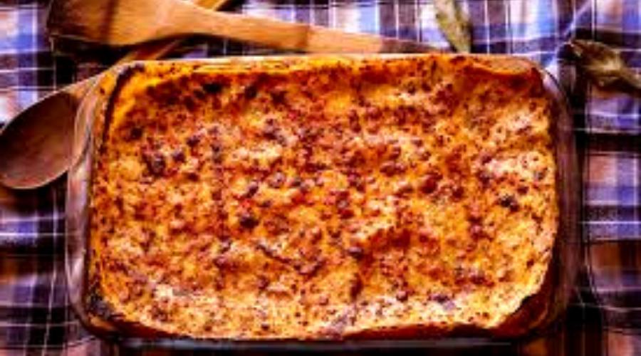 lasaña en horno tostador