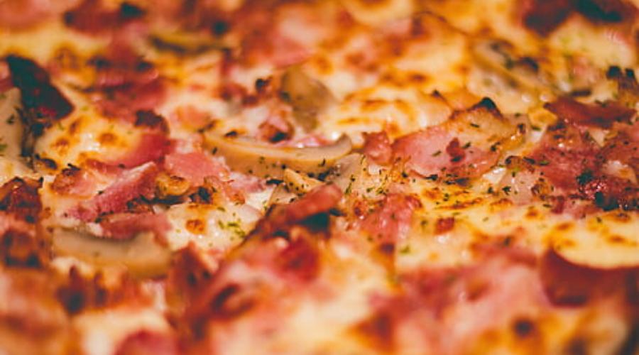 receta pizza en horno tostador